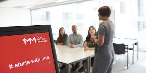 Mentoring Workshop with One Million Mentors, Birmingham