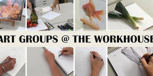 TUESDAY EVENING ART WORKSHOPS