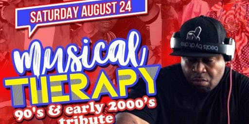 MUSICAL THERAPY: 90s & 2000s | DJ FLASH | SAT AUG 24 @ STATS