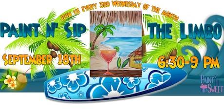Paint N' Sip @ the Tiki Bar tickets