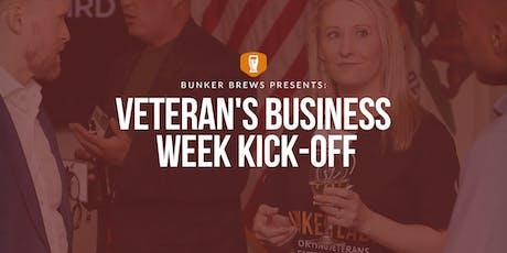 Bunker Brews Bozeman: Veteran's Business Week Kick-Off tickets