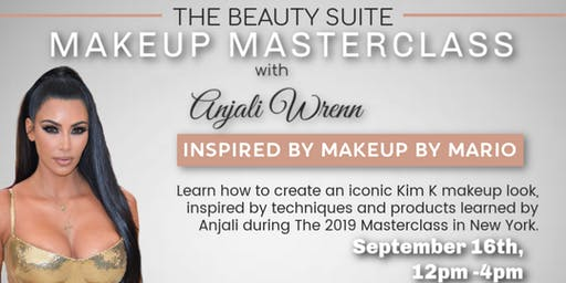 The Beauty Suite MAKEUP MASTERCLASS with Anjali Wrenn