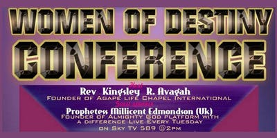 Women Of Destiny Conference - Your Coming Out
