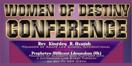 Women Of Destiny Conference - Your Coming Out tickets