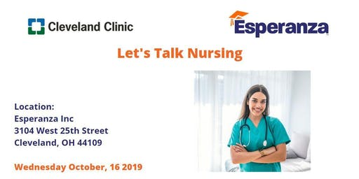 Let's Talk Nursing