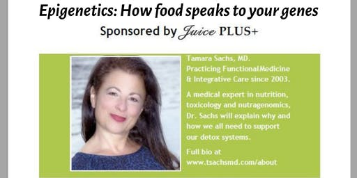 Healthy Living Talk with Dr. Tamara Sachs Morehead City NC