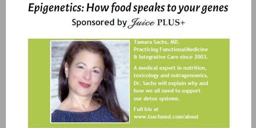 Healthy Living Talk with Dr. Tamara Sachs Morehead City NC