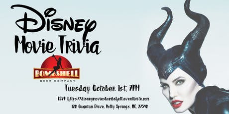 Disney Movie Trivia at Bombshell Beer Company tickets
