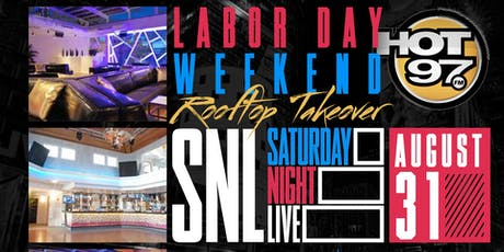 Hot 97 Rooftop Takeover, Labor Day Wkend, Free Entry + Drinks tickets