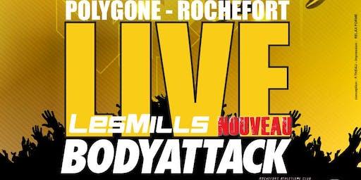 LIVE BODYATTACK / POLYGONE-ROCHEFORT avec Relax Forme