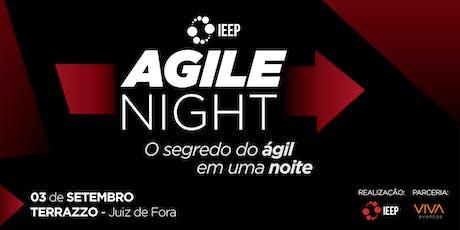 AGILE NIGHT IEEP - O segredo do ágil em uma noite ingressos