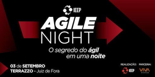 AGILE NIGHT IEEP - O segredo do ágil em uma noite