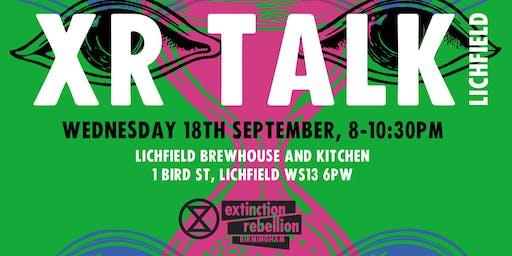 XR Talk Lichfield