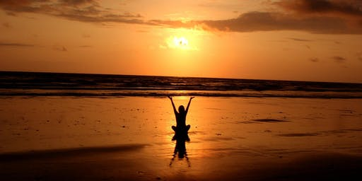 Sunset Yin Yoga on the Beach