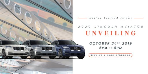 2020 Lincoln Aviator Unveiling