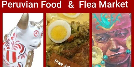 Peruvian Flea Market & Food tickets