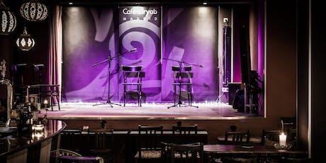 Octubre 2019: Flamenco en Café Ziryab tickets
