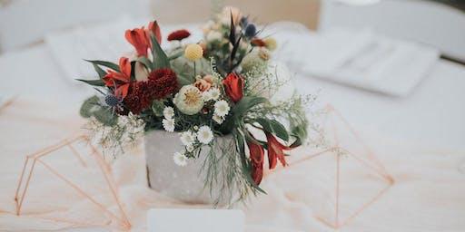 """Moonlight Iris"" Fall Floral Workshop"
