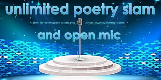 Unlimited Poetry Slam & Open Mic