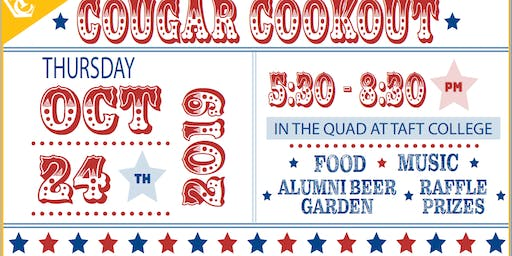 10th Annual Alumni & Friends Cougar Cookout