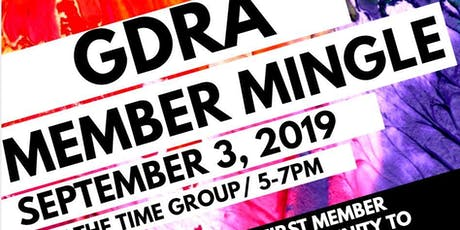 GDRA First  Member Mingle  tickets