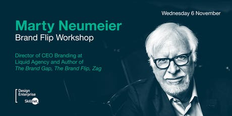 Brand Flip Workshop with Marty Neumeier tickets