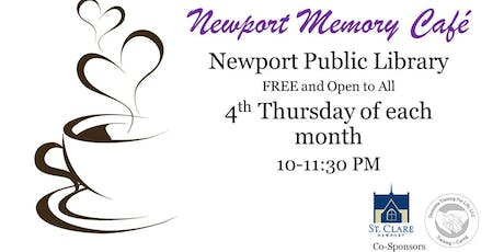 Newport Memory Cafe tickets