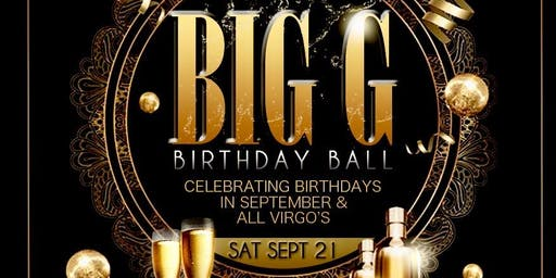 Big G Birthday Ball