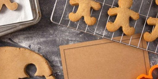 Christmas Gingerbread: Kids Cooking Class Ages 3-6