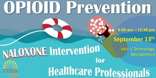 Opioid Prevention and Naloxone  Intervention  for Healthcare Professionals