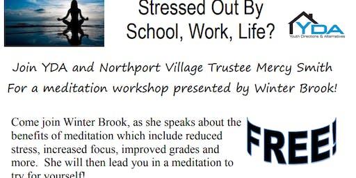Meditation Workshop with Winter Brook, psychic medium