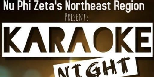 Nu Phi Zeta's Northeast Region Karaoke Night