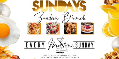 SUNDAY BRUNCH @ Martini Bar  tickets