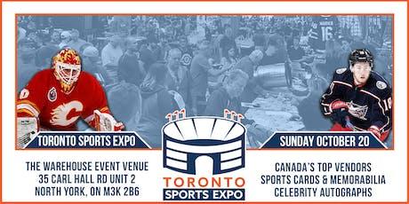 Toronto Sports Expo - October 20, 2019 tickets