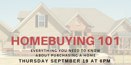 HOMEBUYING 101