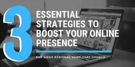 3 Essential Strategies to Boost Your Online Presence tickets