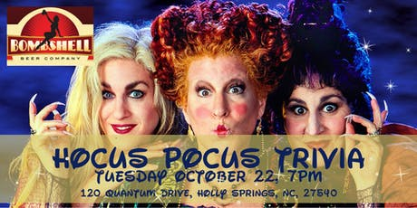 Hocus Pocus Trivia at Bombshell Beer Company tickets