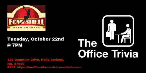 The Office Trivia at Bombshell Beer Company
