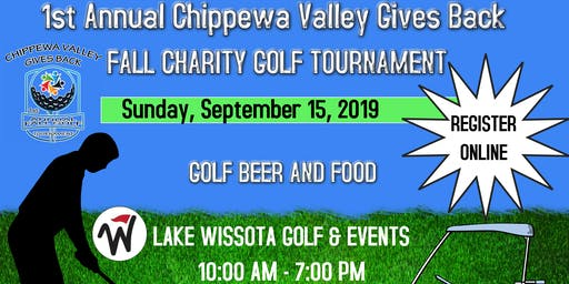1st Annual Fall Charity Golf Tournament