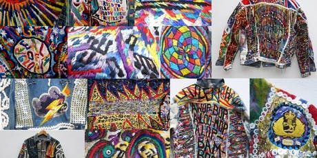 "Create your own ""Artwear"" Jacket with Peter Gibson tickets"