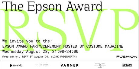 The Epson Award Party Hosted By Costume Magazine at Fushion Festival tickets