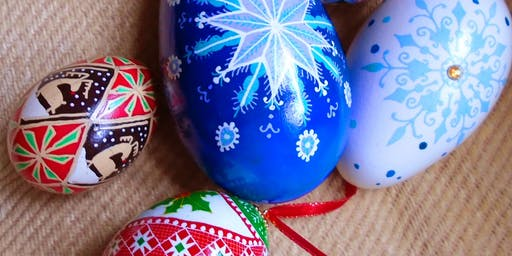 Holiday Pysanky: Traditional Ukrainian Egg Design