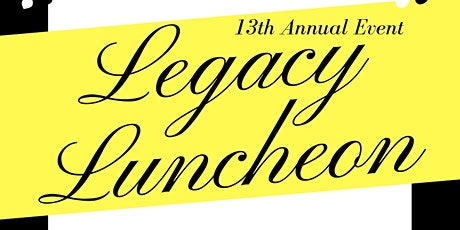 13th Annual Legacy Event - Grand Rapids tickets