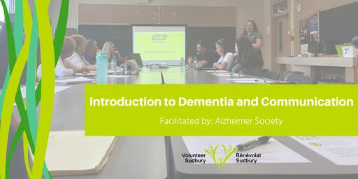 Introduction to Dementia and Communication