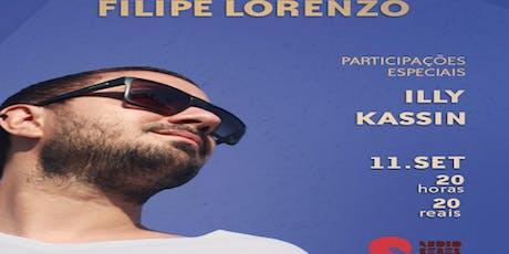 Filipe Lorenzo na Audio Rebel ingressos