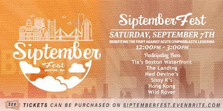 Siptember Fest Bar Crawl tickets