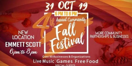 4th Annual Fall Festival and Block Party @Emmett Scott tickets