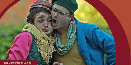 """Shakespeare Napa Valley Presents: """"Two Gentlemen of Verona"""""""