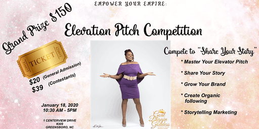 Empower Your Empire Annual: Elevation Pitch Competition (Win $$$)