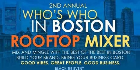Who's Who in Boston tickets